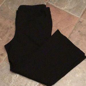 Lane Bryant Black Bootcut Ponte Pant